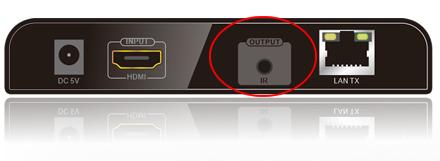 конвертер и удлинитель HDMI сигнала с ИК функцией
