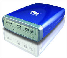 Blu-ray disc driver/writer