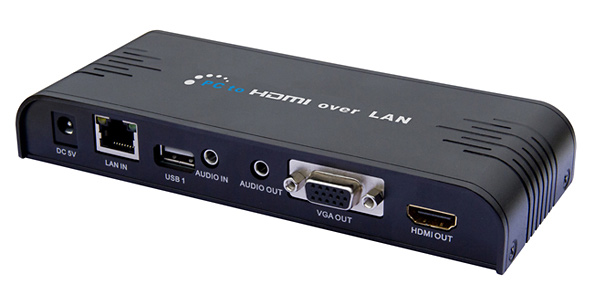 Converter PC-HDMI over Ethernet (LAN) Mobidick VLC3ET76